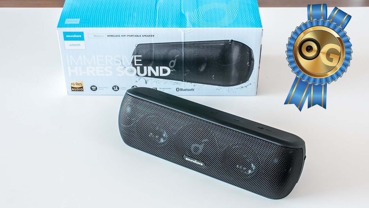 Loa Bluetooth Anker Soundcore Motion+ - A3116